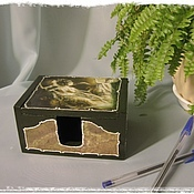 Канцелярские товары handmade. Livemaster - original item business card holder