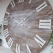 Для дома и интерьера handmade. Livemaster - original item Wall clock 100 cm. Handmade.