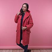 Одежда ручной работы. Ярмарка Мастеров - ручная работа Копия работы Пальто с капюшоном. Handmade.