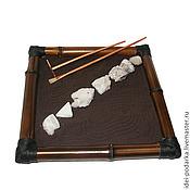 Для дома и интерьера ручной работы. Ярмарка Мастеров - ручная работа Японский садик Черное и белое. Handmade.