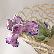 Посуда handmade. Livemaster - original item The Bottom Iris. Handmade.