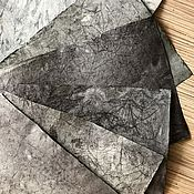 "Материалы для творчества handmade. Livemaster - original item ""The black Prince"" black batik handemade paper. Handmade."