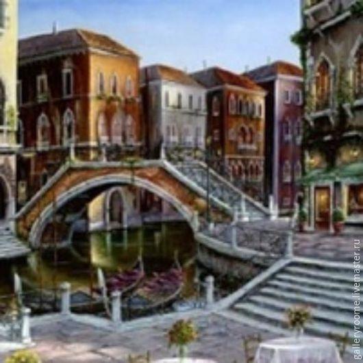 Другие виды рукоделия ручной работы. Ярмарка Мастеров - ручная работа. Купить Картина по номерам Венецианский восход солнца Худ. Роберт Финале. Handmade.