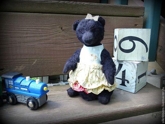 Мишки Тедди ручной работы. Ярмарка Мастеров - ручная работа. Купить Мишка Тедди. Черный мишка. Handmade. Черный
