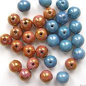 Материалы для творчества handmade. Livemaster - original item Glass beads Czech Republic 6 mm. Handmade.