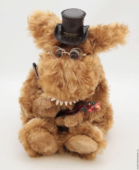 Мишки Тедди ручной работы. Ярмарка Мастеров - ручная работа. Купить Чудищ-Музыкант. Handmade. Оранжевый, игрушка ручной работы