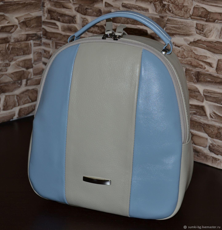 Backpack genuine leather. Model No. 455, Backpacks, Bogorodsk,  Фото №1