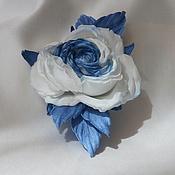 """Цветы и флористика ручной работы. Ярмарка Мастеров - ручная работа Роза """"Ice"""". Handmade."""