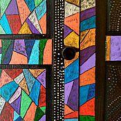 Для дома и интерьера ручной работы. Ярмарка Мастеров - ручная работа Три дверцы на петлях для гардероба ПАКС с уникальной росписью. Handmade.