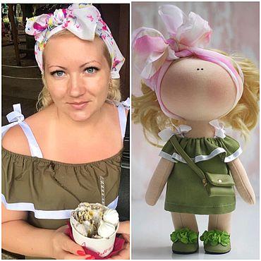 Куклы и игрушки ручной работы. Ярмарка Мастеров - ручная работа Кукла по фотографии. Handmade.