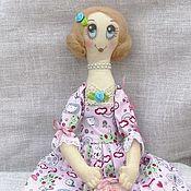 Декор в стиле Тильда ручной работы. Ярмарка Мастеров - ручная работа Интерьерная кукла Ангелина. Handmade.
