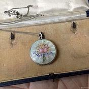 Предметы интерьера винтажные ручной работы. Ярмарка Мастеров - ручная работа Антикварная коробка для коллекции медальонов. Handmade.