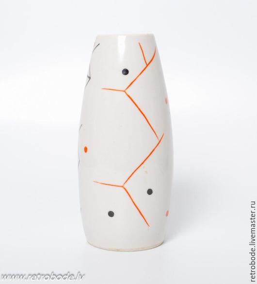 Винтажные предметы интерьера. Ярмарка Мастеров - ручная работа. Купить Фарфоровая ваза вазочка, фарфор, Винтаж стиль 1960-х. Handmade.