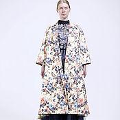 """Одежда ручной работы. Ярмарка Мастеров - ручная работа Летнее пальто """"Сад Диора"""". Handmade."""