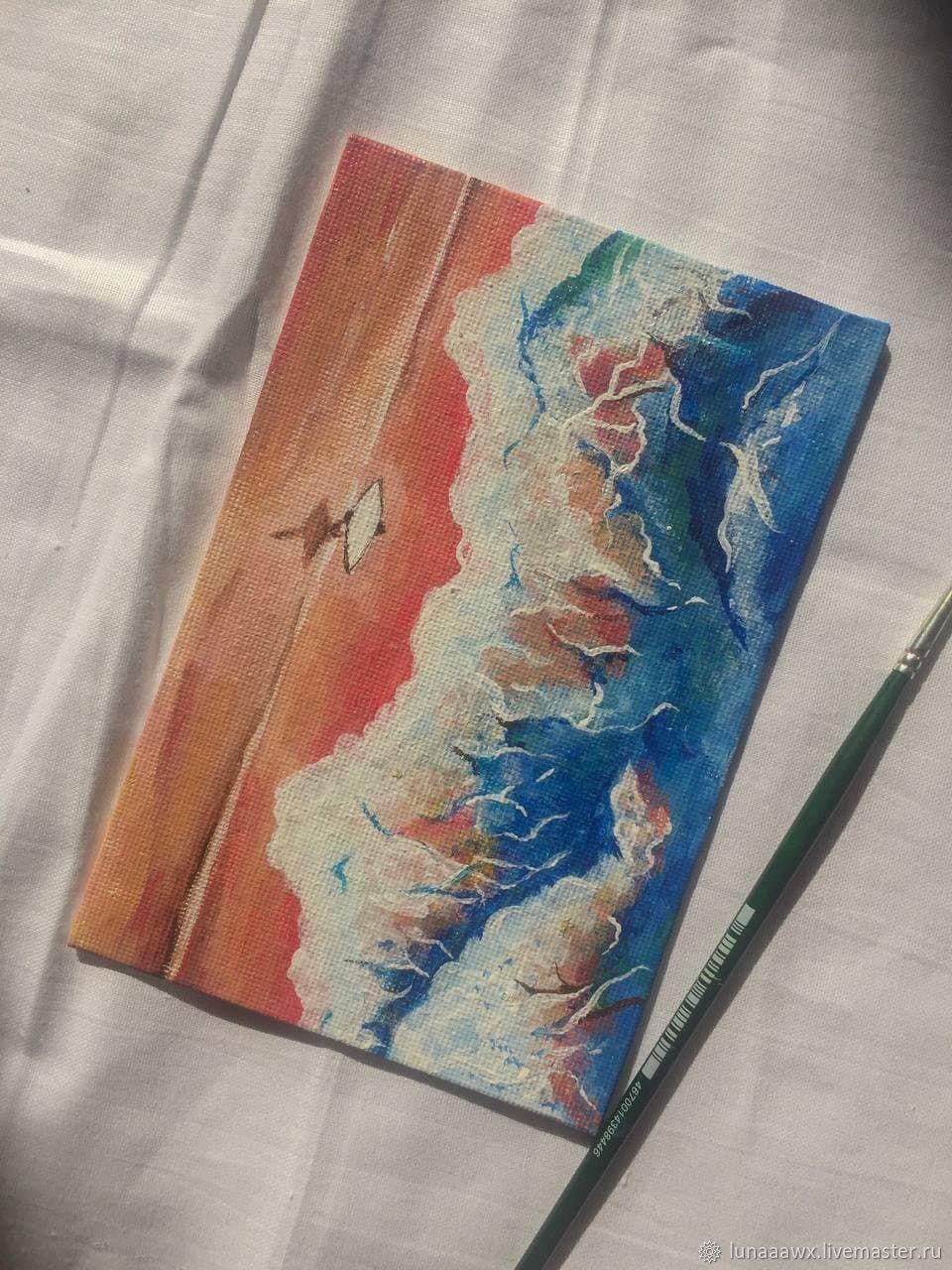 """""""Прогулка вдоль океана"""", Картины, Сочи,  Фото №1"""