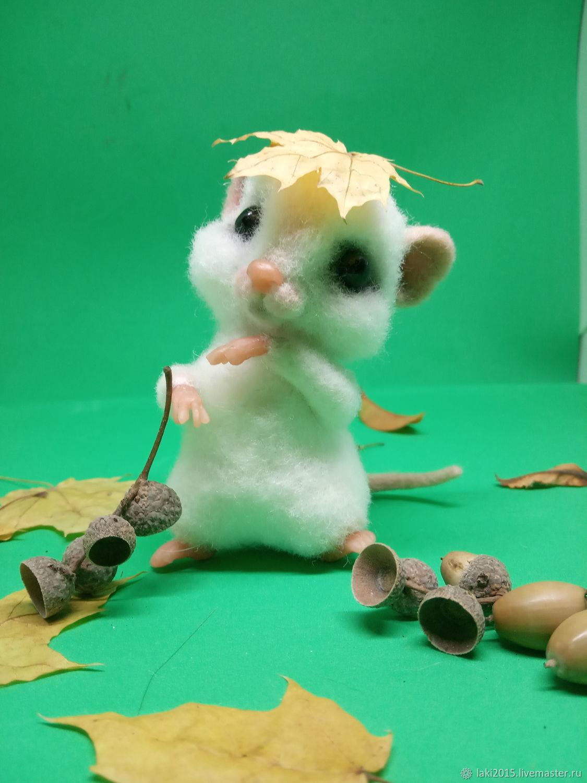 Мышонок из шерсти, Игрушки, Курск, Фото №1