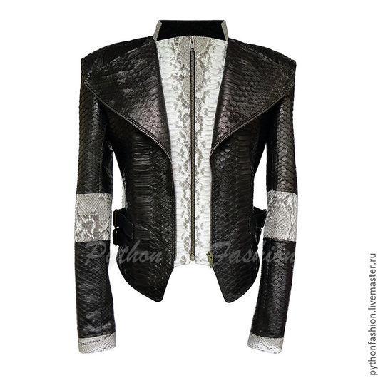 Куртка из питона. Женская куртка из кожи питона на молнии. Красивая кожаная куртка из питона. Женская одежда из питона. Купить кожаная куртка из питона ручной работу. Куртка из кожи питона на весну.