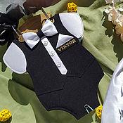 """Фотоальбомы ручной работы. Ярмарка Мастеров - ручная работа Фотоальбом """"Малыш во фраке"""". Handmade."""