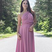 Одежда ручной работы. Ярмарка Мастеров - ручная работа Розовые платья для подружек невесты, розовые платья-трансформеры. Handmade.