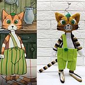 Куклы и игрушки ручной работы. Ярмарка Мастеров - ручная работа Кот Финдус. Handmade.
