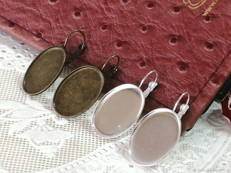 Basis for earrings Art. OS41, Blanks for jewelry, Irkutsk,  Фото №1