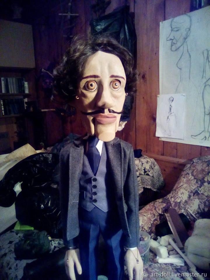 Театральная кукла. Марионетка, Кукольный театр, Москва,  Фото №1