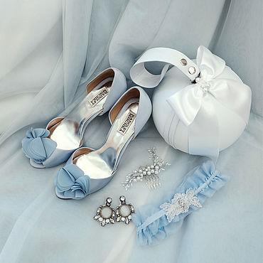 """Сумки и аксессуары ручной работы. Ярмарка Мастеров - ручная работа Свадебная сумка горошина Princess Wedding """"Swan Queen"""". Handmade."""