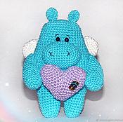 Для дома и интерьера handmade. Livemaster - original item Hippo butterfly. Behemoth heart. Handmade.