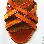 Обувь ручной работы. Ярмарка Мастеров - ручная работа Босоножки бальные. Handmade.
