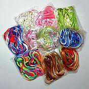 Материалы для творчества handmade. Livemaster - original item Nylon satin threads (set). Handmade.