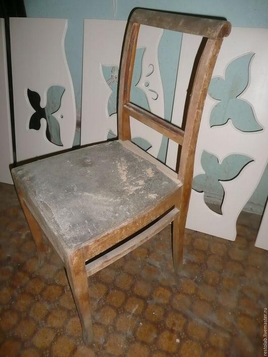 Реставрация. Ярмарка Мастеров - ручная работа. Купить Реставрация и перетяжка старого стула массива бука.. Handmade. Реставрация мебели