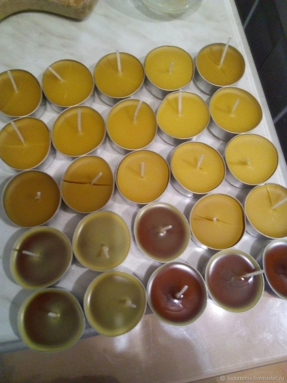 Свечи восковые в гильзах, Свечи, Сочи,  Фото №1
