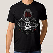 "Одежда handmade. Livemaster - original item Футболка хлопковая ""Твин Пикс"". Handmade."