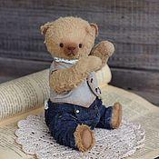 Куклы и игрушки ручной работы. Ярмарка Мастеров - ручная работа Мишка тедди Серж. Handmade.