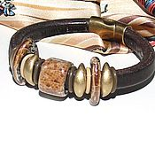 Украшения handmade. Livemaster - original item Bracelet Regaliz Chocolate. Handmade.
