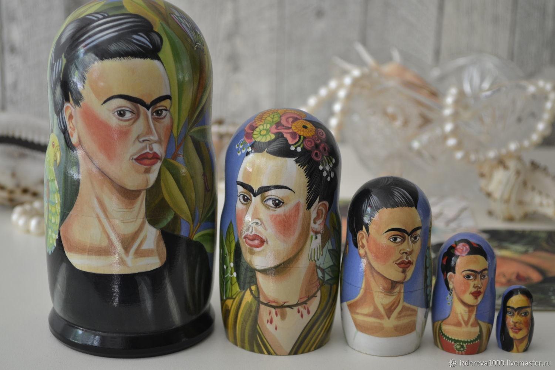 Dolls: Frida with a parrot, Dolls1, Ryazan,  Фото №1