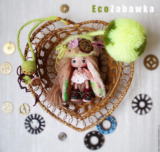 Миниатюрные модели ручной работы. Ярмарка Мастеров - ручная работа. Купить Eco Zabawka. Авторская кукла. Миниатюра. Подарок. Стимпанк. Эко. Кукла. Handmade.