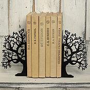 Для дома и интерьера ручной работы. Ярмарка Мастеров - ручная работа Упоры для книг Птичье дерево. Handmade.