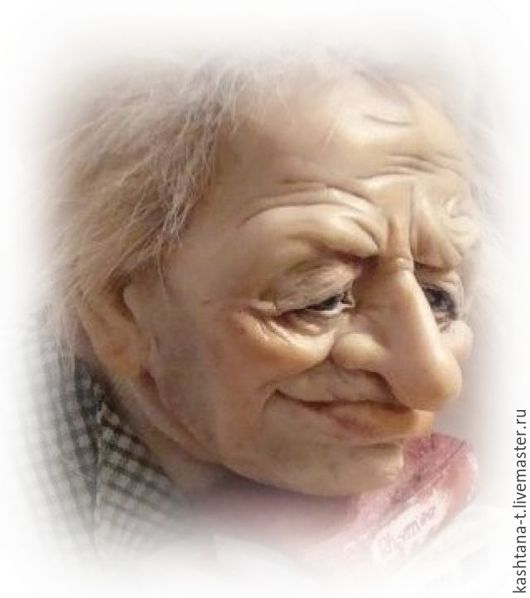 """Коллекционные куклы ручной работы. Ярмарка Мастеров - ручная работа. Купить Кукла """"Соломоныч - книголюб"""". Handmade. Коллекционная кукла, гостиная"""