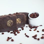 Косметика ручной работы handmade. Livemaster - original item Soap natural with zero scrub espresso handcrafted coffee. Handmade.