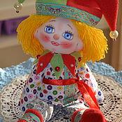 Мягкие игрушки ручной работы. Ярмарка Мастеров - ручная работа Кукла Петрушка! Петрушка. Handmade.