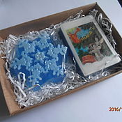"""Косметика ручной работы. Ярмарка Мастеров - ручная работа набор мыла """"С Новым годом"""". Handmade."""