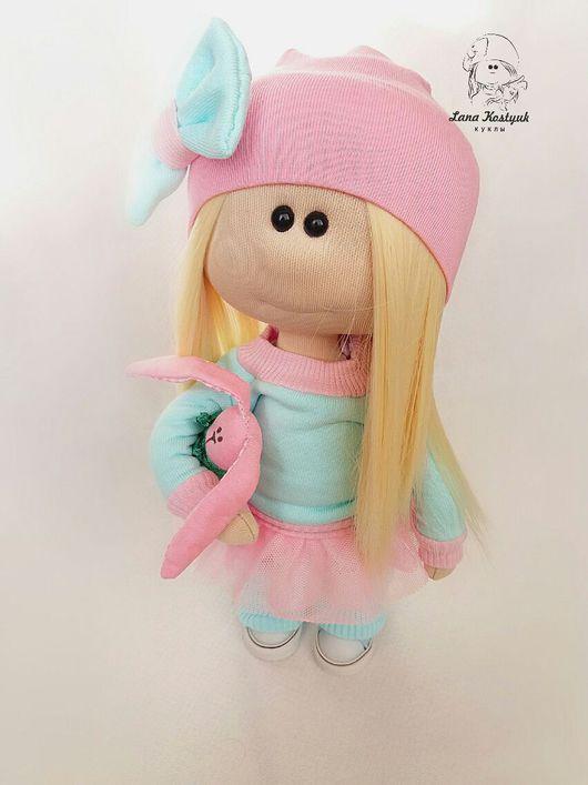 Коллекционные куклы ручной работы. Ярмарка Мастеров - ручная работа. Купить Яна. Handmade. Подарок, трикотаж