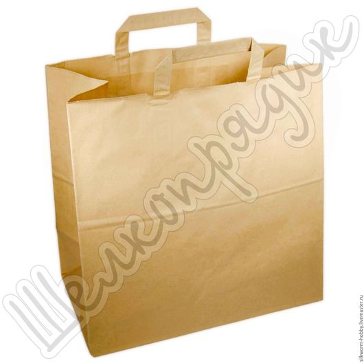 Упаковка ручной работы. Ярмарка Мастеров - ручная работа. Купить Крафт-пакет 48х44х18. Handmade. Крафт-пакет, упаковка, пакет