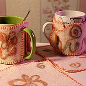 """Для дома и интерьера ручной работы. Ярмарка Мастеров - ручная работа Пара """"Чайных пар"""". Handmade."""