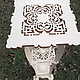 """Мебель ручной работы. Консоль 086 -  """"Italian pedestal table"""" (FS). ОЛЕГ (Viking). Ярмарка Мастеров. Резьба по дереву, Дуб"""