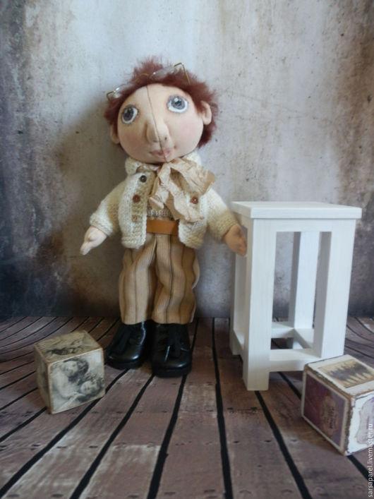 Куклы тыквоголовки ручной работы. Ярмарка Мастеров - ручная работа. Купить Малыши и малышки. Handmade. Забавный подарок, хлопок