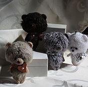 """Куклы и игрушки ручной работы. Ярмарка Мастеров - ручная работа Вязаные медвежата """"Naturel"""". Handmade."""