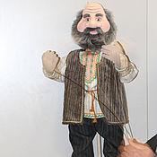Куклы и игрушки ручной работы. Ярмарка Мастеров - ручная работа Тростевая кукла Дед. Handmade.