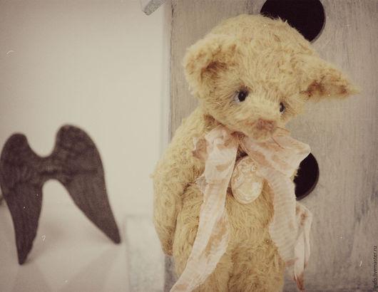 Мишки Тедди ручной работы. Ярмарка Мастеров - ручная работа. Купить Лёня. лисенок авторский тедди ручной работы. Handmade.